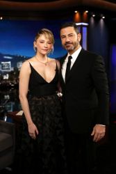 Haley Bennett - Jimmy Kimmel Live: October 25th 2017