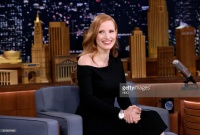 Jessica Chastain - on the set of The Tonight Show in NYC 11/17/17