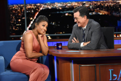 Tiffany Haddish - The Late Show with Stephen Colbert: August 7th 2019
