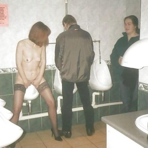 Men having sex in public toilets