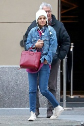 Katie Holmes - Out in New York 11/24/2018