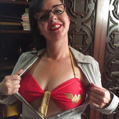 Wonder woman cosplay nude