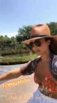 Jessica Alba rides a bike in top bikini 5/7/2018 YKKtyFbj_t