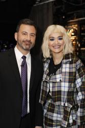 Rita Ora - Jimmy Kimmel Live: December 5th 2018