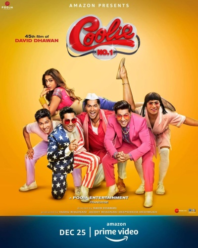 Coolie No 1 (2020) 1080p HDRip x264 DD5 1 ESub-BollywoodA2z
