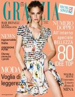 Bar Refaeli -                    Grazia Magazine (Italy) March 22nd (2018).