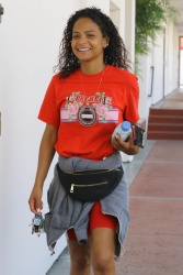 Christina Milian - Out in Studio City 4/3/18