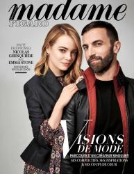 Emma Stone -                  Madame Figaro Magazine (France) May (2018).