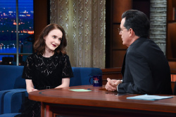 Rachel Brosnahan - The Late Show with Stephen Colbert: January 4th 2018