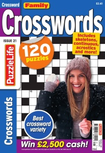 Family Crosswords  December (2019)