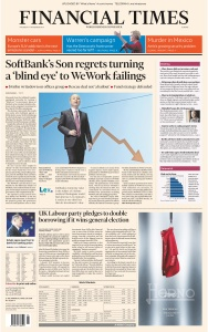 Financial Times Europe - 07 11 (2019)
