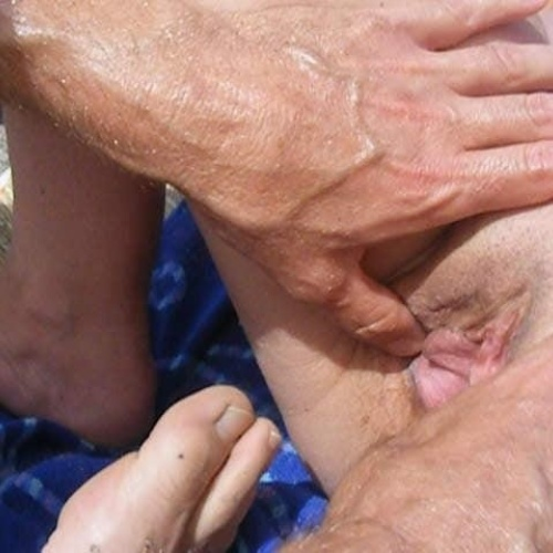 Fingered on train porn