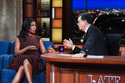 Omarosa Manigault - The Late Show with Stephen Colbert: February 28th 2018