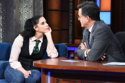 Sarah Silverman - The Late Show with Stephen Colbert: October 22nd 2018