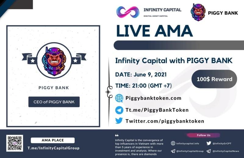 AMA PiggyBankToken x Infinity Capital: Roadmap and Beyond