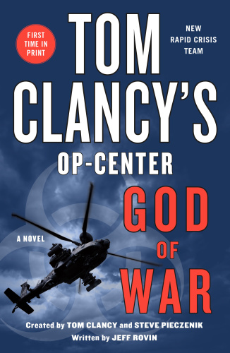 Tom Clancy's Op-Center  God of War by Jeff Rovin
