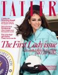 Elizabeth Hurley -          Tatler Magazine (UK) April 2020.