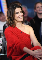 Cobie Smulders - Good Morning America: January 9th 2019