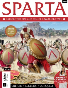 All About History Book of Sparta  December (2019)