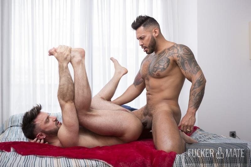 Fuckermate: Viktor Rom and Kike Gil – Cock Attack (Bareback)
