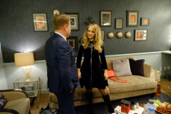 Juno Temple - The Late Late Show with James Corden: November 29th 2017