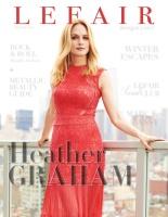 Heather Graham - Hudson Taylor Photoshoot for LEFAIR Magazine - Winter 2017