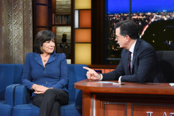 Christiane Amanpour - The Late Show with Stephen Colbert: October 31st 2018