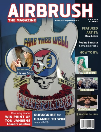 Airbrush The Magazine - Issue 3 - August-September (2019)