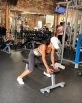 Nicole Scherzinger - Workout 4/1/19