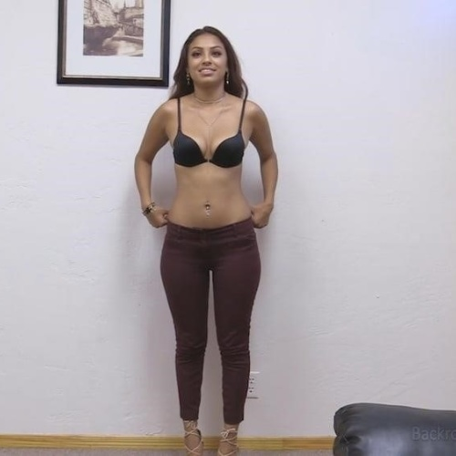 Backroom casting first time anal