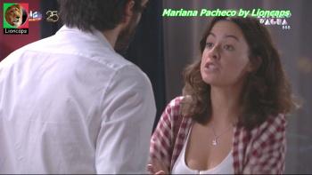 Mariana Pacheco sensual na novela Espelho d'Agua