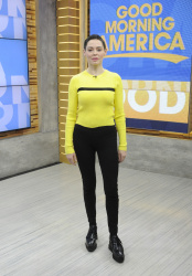 Rose McGowan - Good Morning America: January 30th 2018