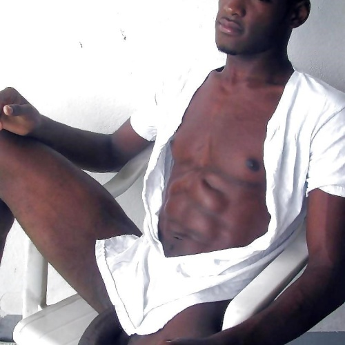 Sexy gay naked black men