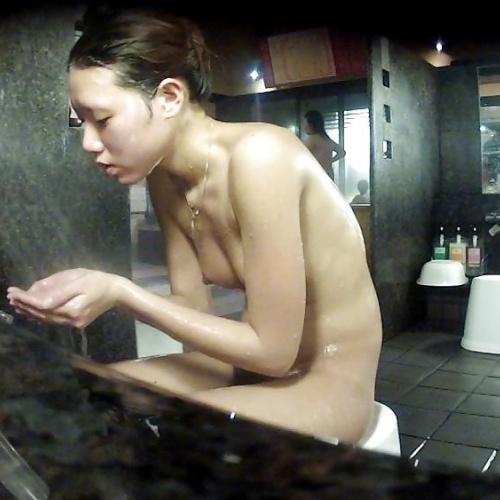 Japanese public bath porn