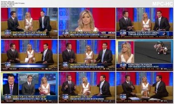 AINSLEY EARHARDT *wow, rare cleavage* - July 3, 2011