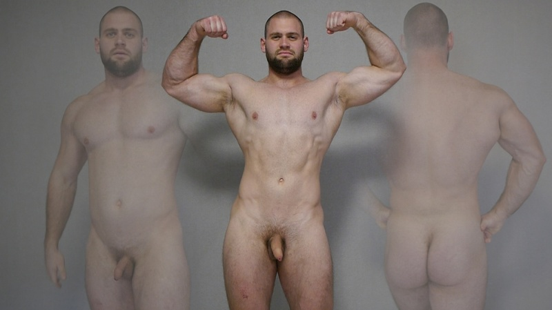 TheGuySite: Nickolai – Big Naked Man From Russia