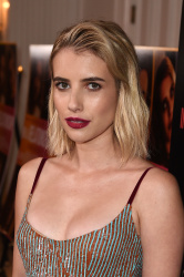Emma Roberts at the In a Relationship Premiere in West Hollywood, California - 10/30/18