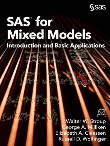 SAS for Mixed Models Introduction and Basic Applications
