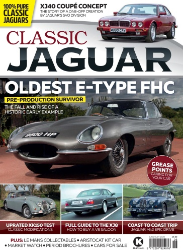 Classic Jaguar - June-July (2020)