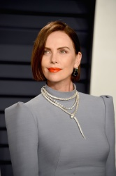Charlize Theron - 2019 Vanity Fair Oscar Party in Beverly Hills 2/24/19