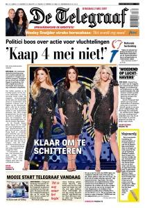 De Telegraaf  2 Mei 2017