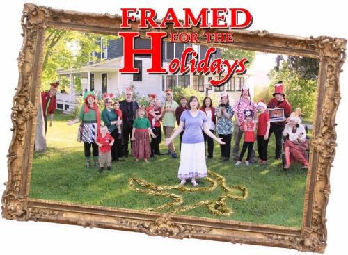 Framed for the Holidays (2018) WEBRip 720p X264 Solar