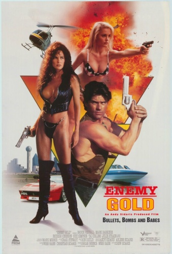 Enemy Gold (1993) UNRATED 720p BluRay x264 ESubs [Dual Audio][Hindi+English]-=!Dr STAR!=-