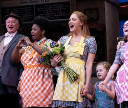 Katharine McPhee - Broadway Debut in 'Waitress' at the Brooke Atkinson Theatre 4/10/18