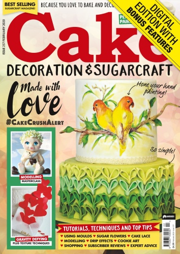 Cake Decoration & Sugarcraft - Issue 257 - February (2020)