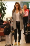 Maria Menounos -              Louis Armstrong New Orleans International Airport April 5th 2018.