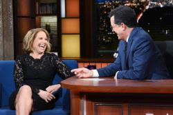 Katie Couric - The Late Show with Stephen Colbert: April 10th 2018