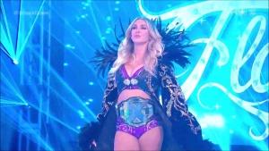 Charlotte Flair vs Bayley Match 5/22/20