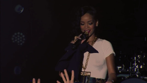 Rihanna - See-thru/Sports Bra - Stockholm & Toronto Concert