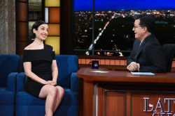 Zoe Lister-Jones - The Late Show with Stephen Colbert: February 27th 2018